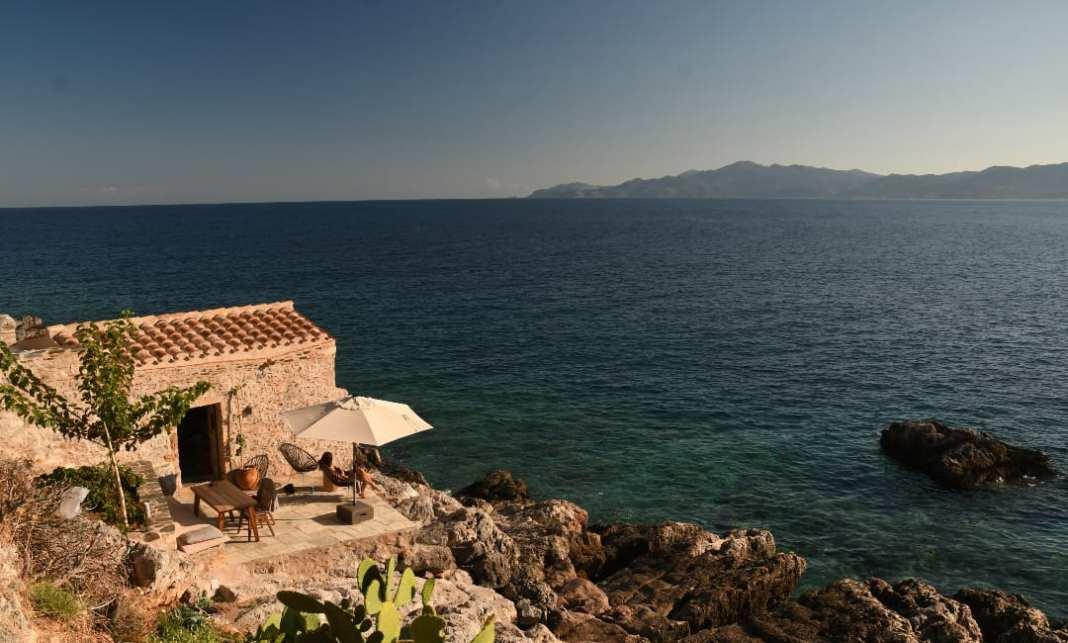 Ferienhaus am Meer Griechenland