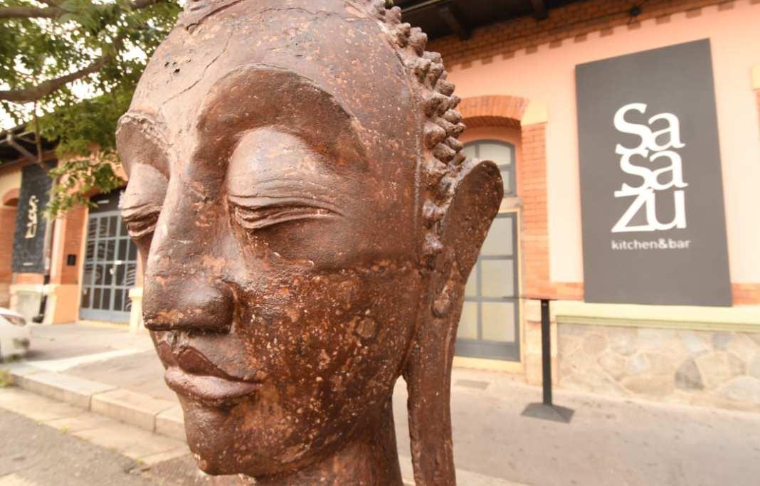 SaSaZu Buddhakopf