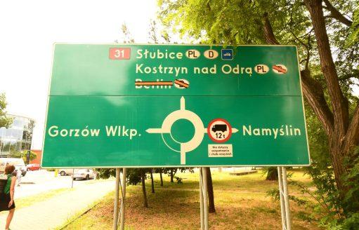 Kreisverkehr Kostrzyn nad Odra