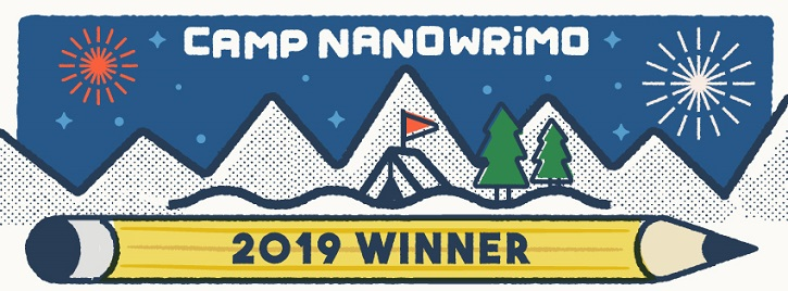 Camp NaNoWriMo Winner ! (juillet 2019)