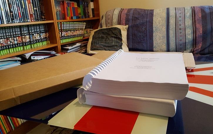 Épaisseur du manuscrit