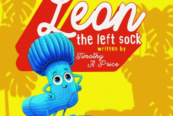 Leon the Left sock