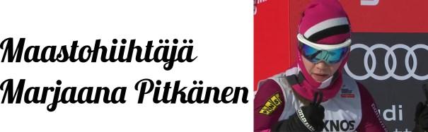 Marjaana Pitkänen Lahti hiihdon MC 2018