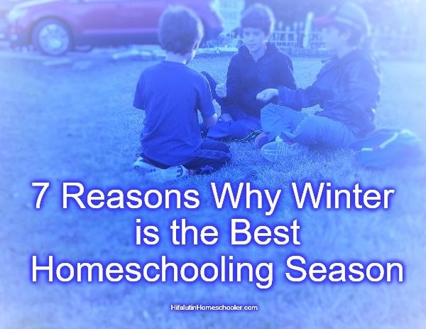 7 Reasons Winter is the Best Homeschooling Season