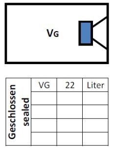 Audio System M10 Gehäusevolumen