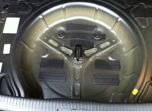 Golf 6 Kofferaum ohne Ablage unter Ladeboden