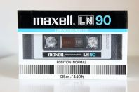 Maxell LN C-90, 1983 version.