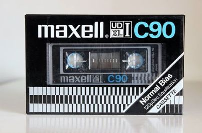 Maxell UD-XLI C-90 1981 version.