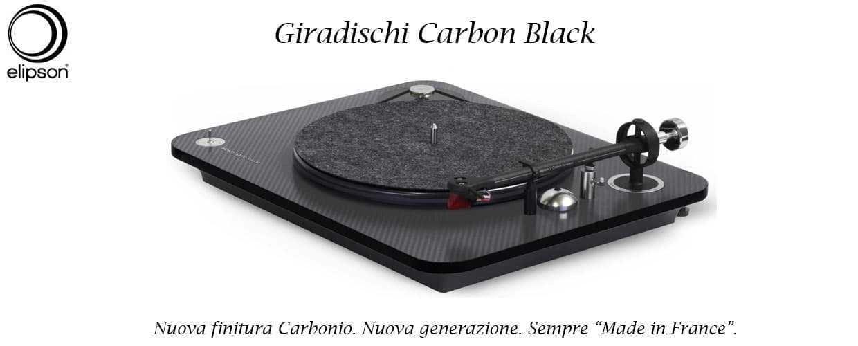 banner giradischi elipson carbon black