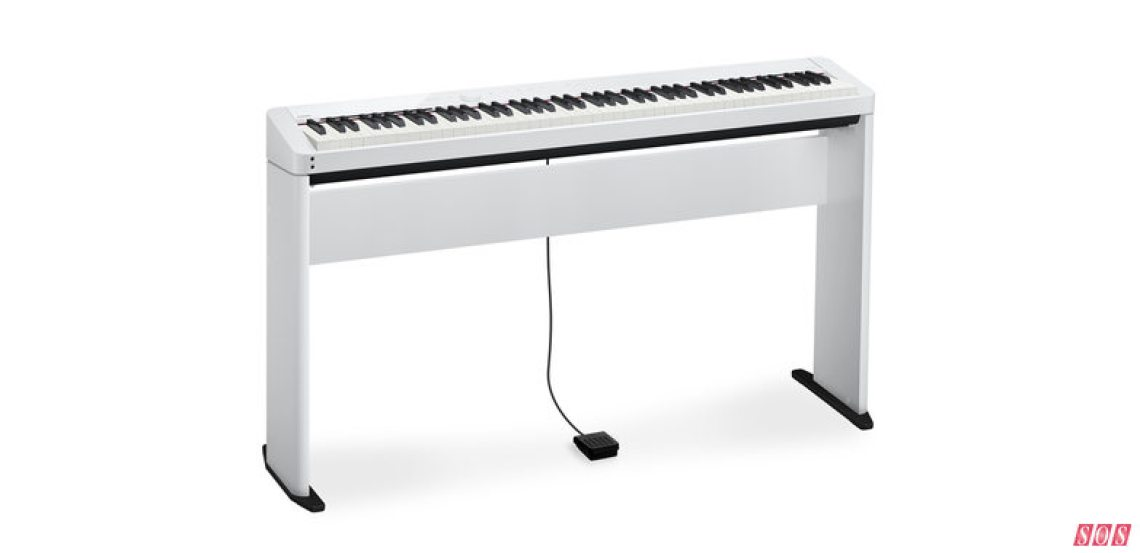 Casio's PX-S1000 (shown here on the optional stand).