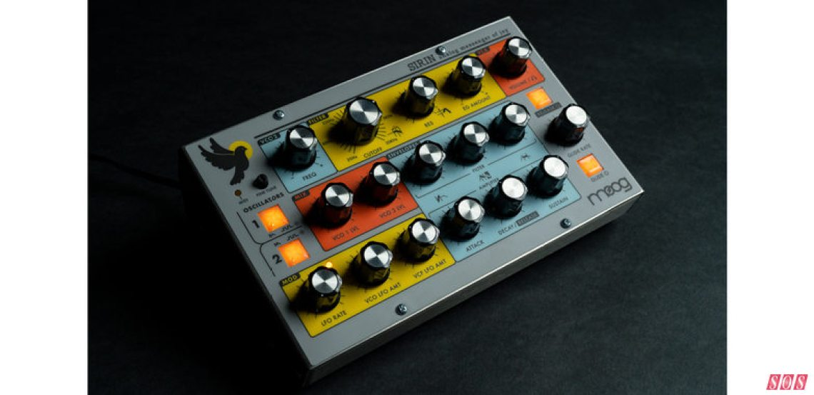 Moog's Limited-edition Sirin synth... probably not coming to a town near you anytime soon.