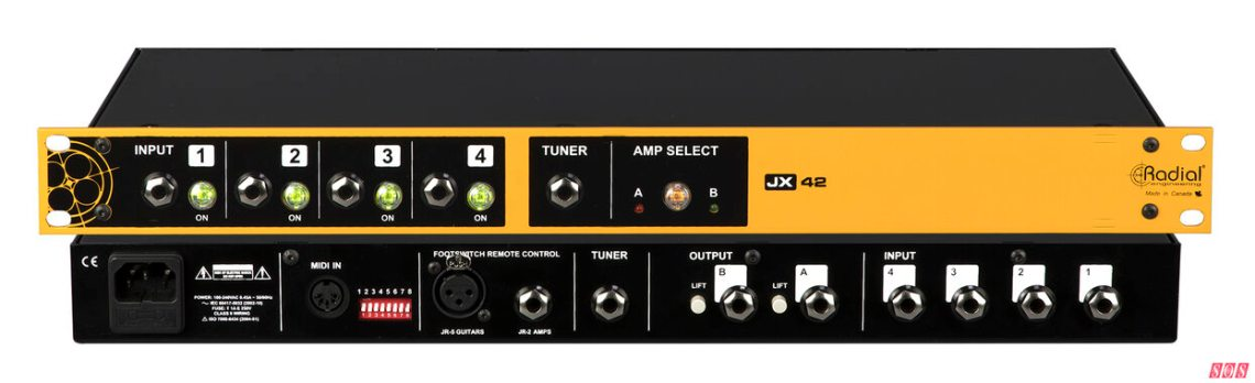 Radial JX42 V2