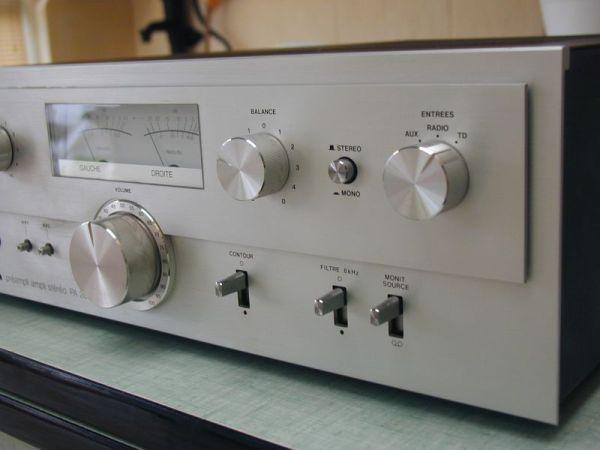 Musique dématerialisée - Ampli Vintage
