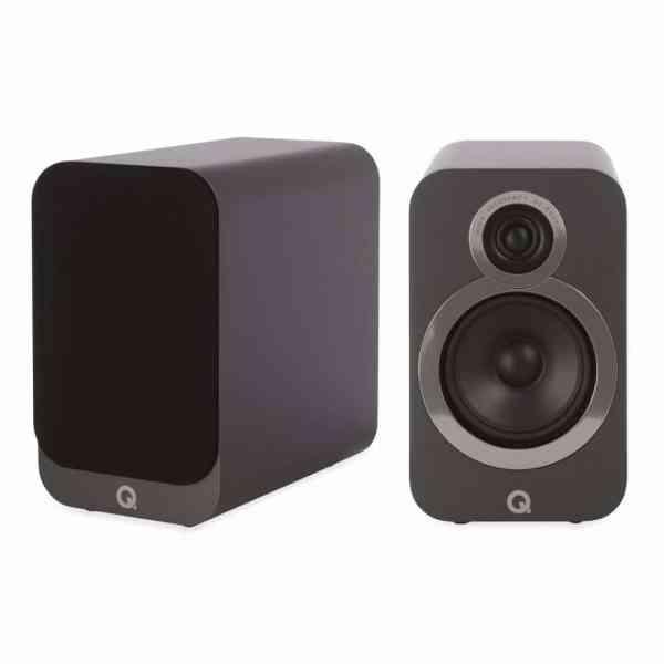 Q Acoustics 3020i è un diffusore da stand grigio