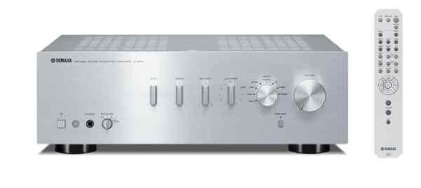 Yamaha A-S301 è un amplificatore integrato silver