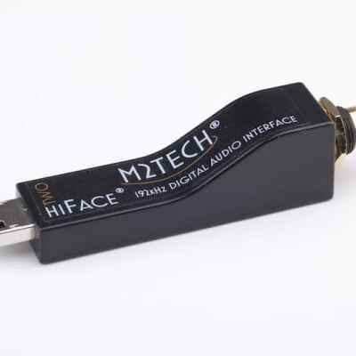 M2Tech hiFace Two è un convertitore nero