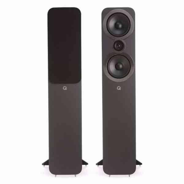 q acoustics 3050i è un diffusore da pavimento grigio