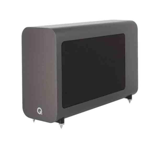 Q Acoustics 3060s è un subwoofer amplificato grigio