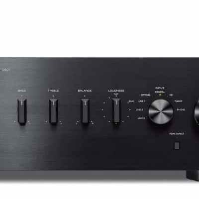 Yamaha A-S501 è un amplificatore integrato nero