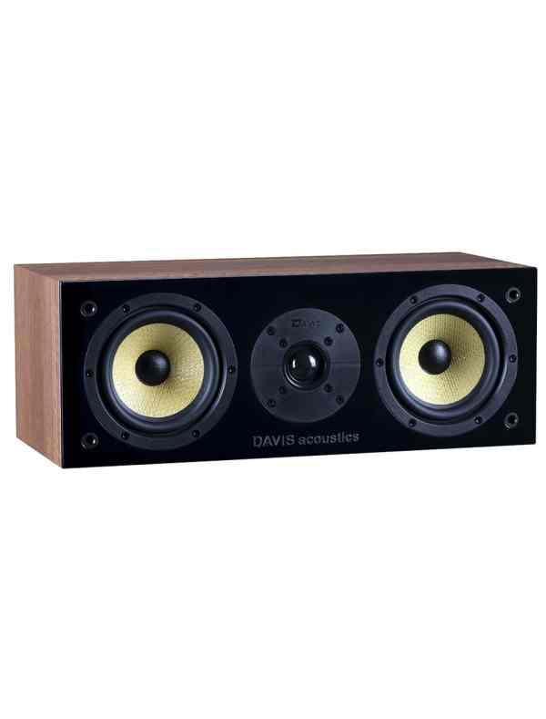 Davis Acoustics Balthus 10 diffusore per canale centrale noce aperto