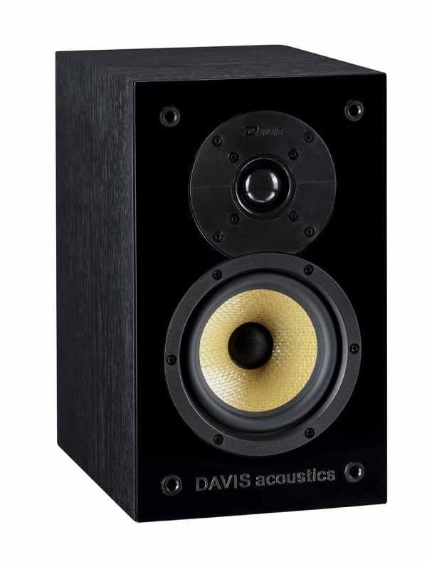 Davis Acoustics Baltus 30 è un diffusore da stand nero aperto