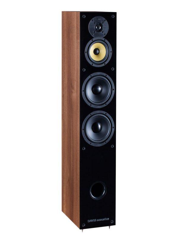 Davis Acoustics Balthus 70 è un diffusore da pavimento noce aperto
