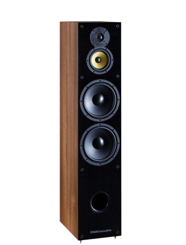 Davis Acoustics Balthus 90 è un diffusore da pavimento noce aperto