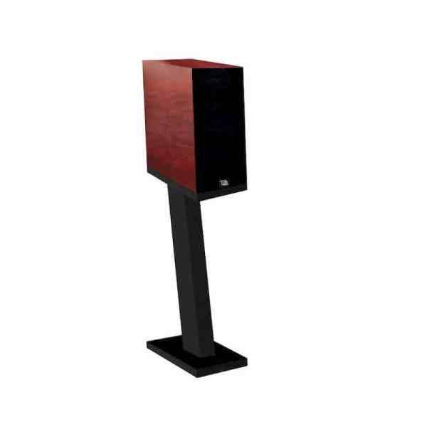 Davis Acoustics Courbet N°3 è un diffusore da stand mogano rosso griglia