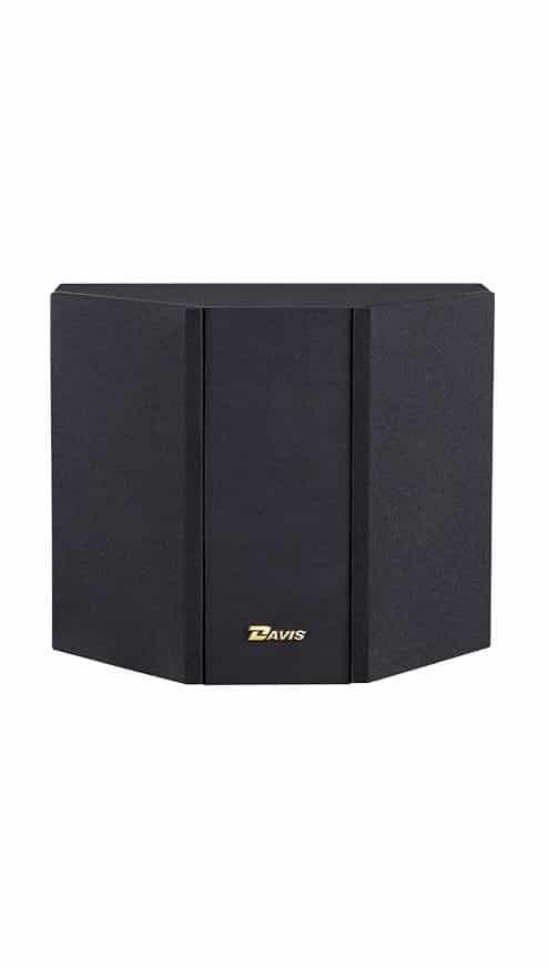 Davis Acoustics Mia 40 è un diffusore da parete nero griglia