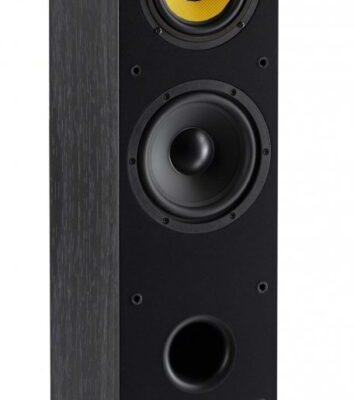 Davis Acoustics Mia 60 è un diffusore da pavimento nero aperto