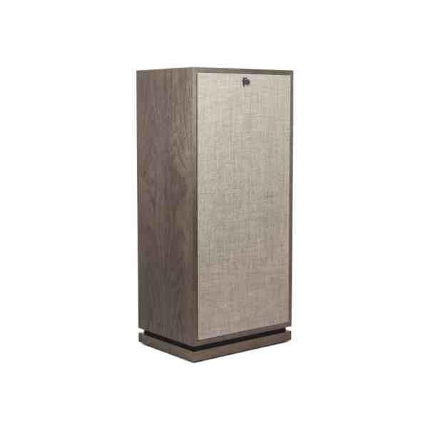 Klipsch Forte III è un diffusore da pavimento rovere lato griglia
