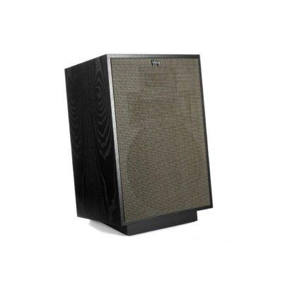 Klipsch Heresy IV è un diffusore da pavimento nero lato griglia