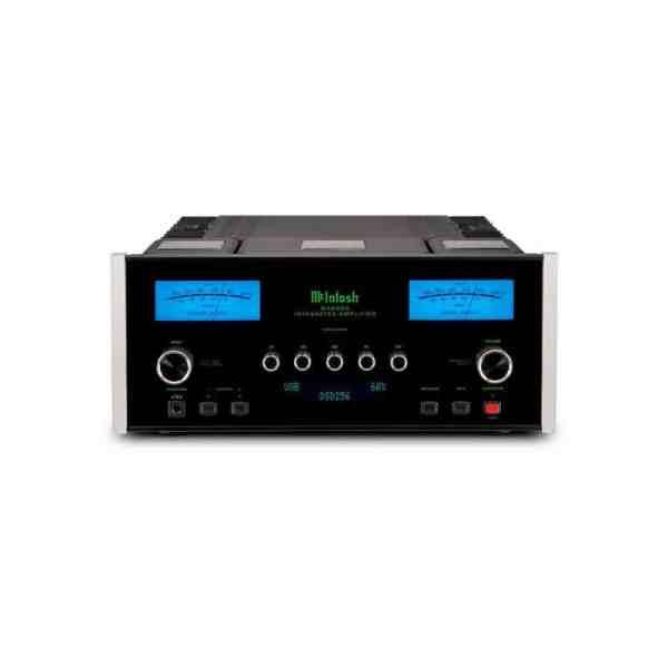 McIntosh MA8900 è un amplificatore integrato nero fronte