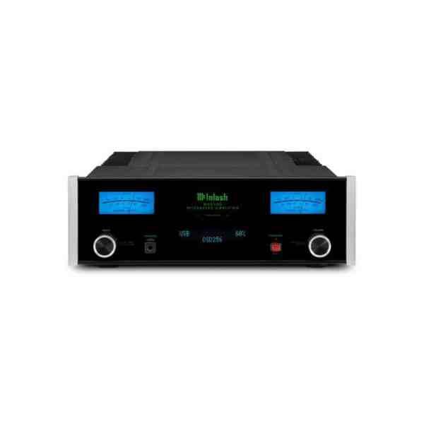McIntosh MA5300 è un amplificatore integrato nero fronte