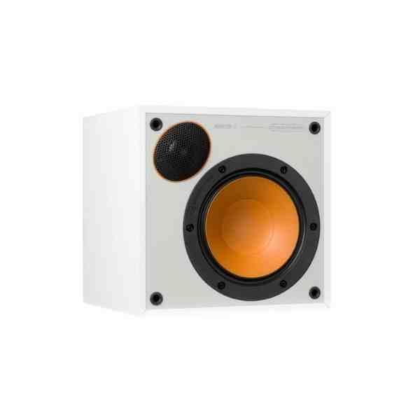Monitor Audio Monitor 50 è un diffusore da stand bianco aperto