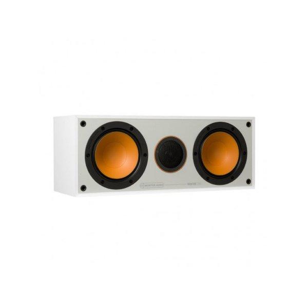 Monitor Audio Monitor C150 è un diffusore per canale centrale bianco aperto
