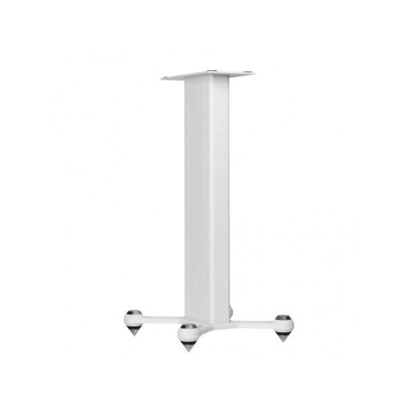 Monitor Audio Studio Stand sono accessori per diffusori bianco fronte