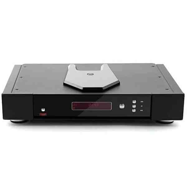 Rega Saturn R è un lettore CD nero fronte