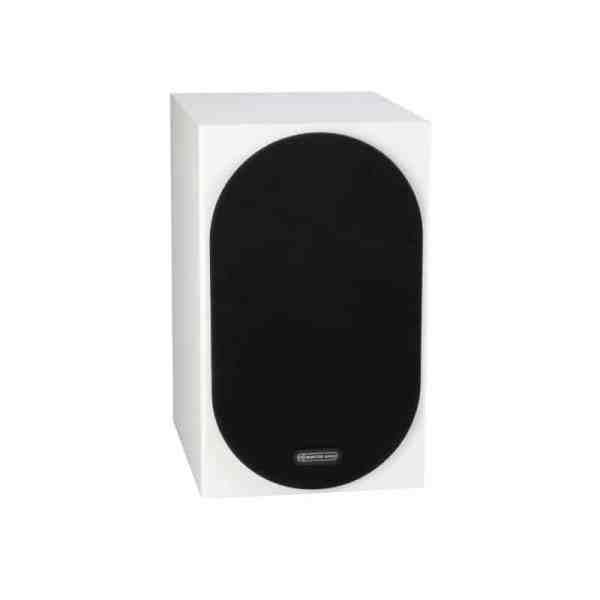 Monitor Audio Silver 100 6G è un diffusore da stand bianco griglia