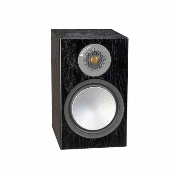 Monitor Audio Silver 100 6G è un diffusore da stand nero aperto
