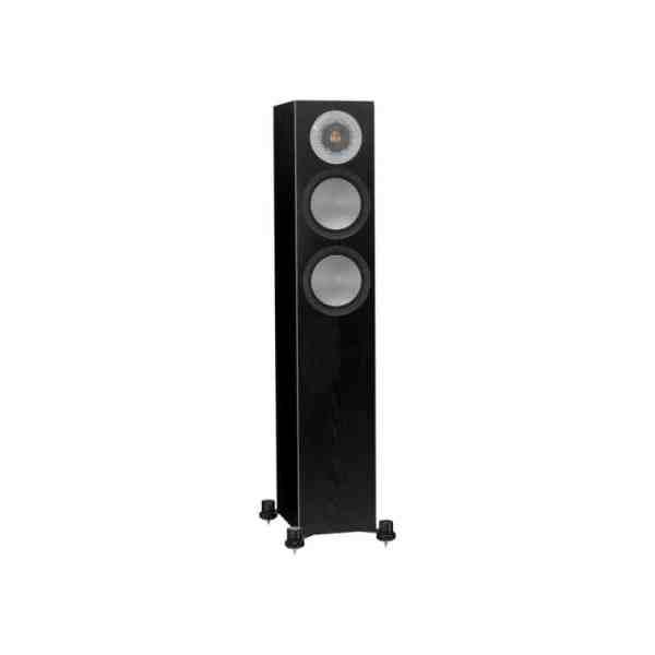Monitor Audio Silver 200 6G è un diffusore da pavimento nero aperto