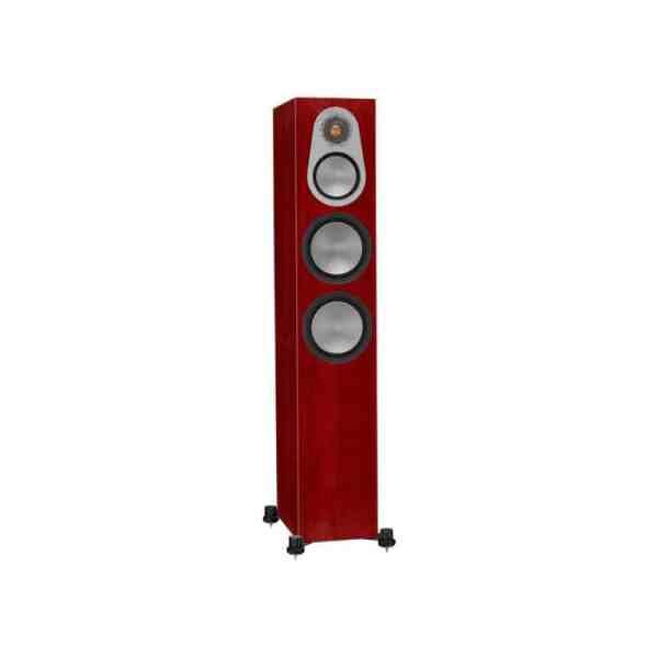 Monitor Audio Silver 300 6G è un diffusore da pavimento rosenut aperto