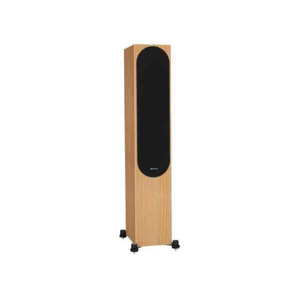 Monitor Audio Silver 300 6G è un diffusore da pavimento rovere naturale
