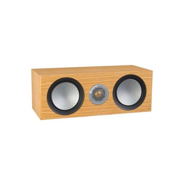 Monitor Audio Silver C150 è un diffusore per canale centrale rovere naturale aperto