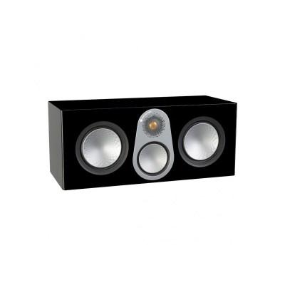 Monitor Audio Silver C350 è un diffusore per canale centrale nero laccato aperto
