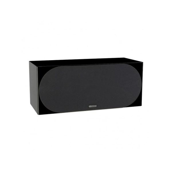 Monitor Audio Silver C350 è un diffusore per canale centrale nero laccato griglia