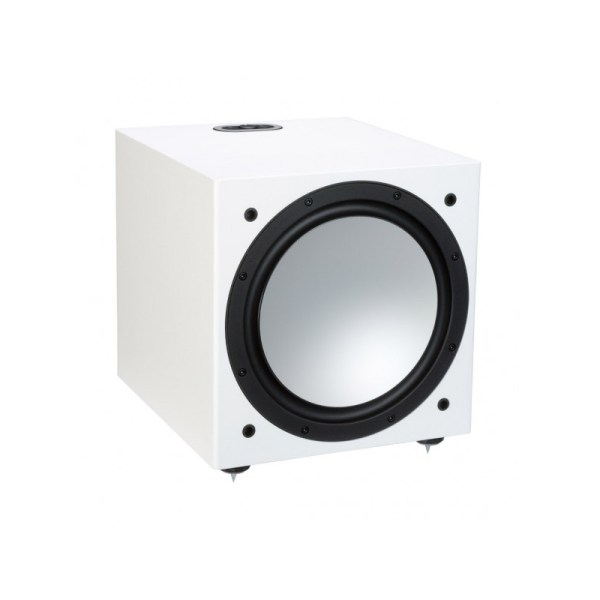 Monitor Audio Silver W-12 6G è un subwoofer bianco aperto
