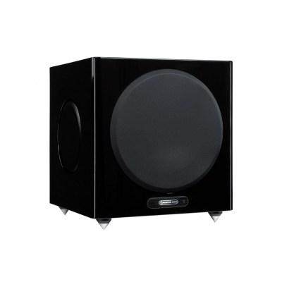 Monitor Audio Gold W12 5G è un subwoofer nero laccato