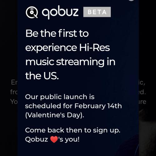 Qobuz, Hi-Res Streaming Service, Schedules U S  Public