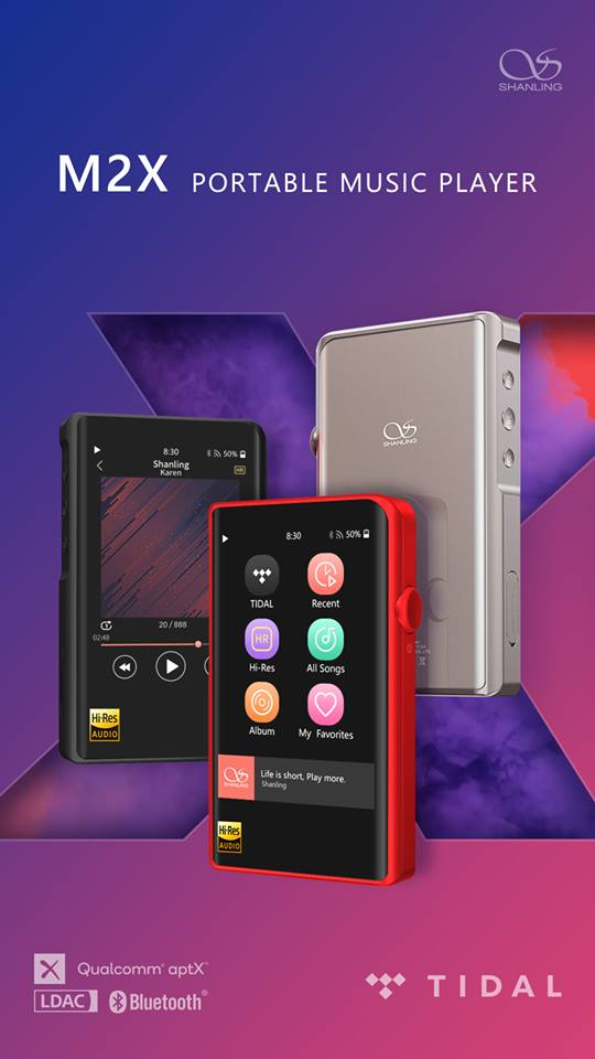 Shanling Audio Intros M2x DAP With TIDAL Streaming, DLNA